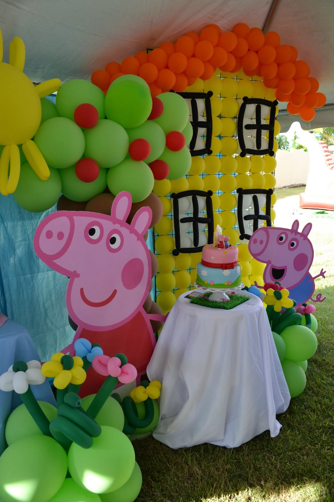 Decorations To Put On A Cake For Pig Theme
