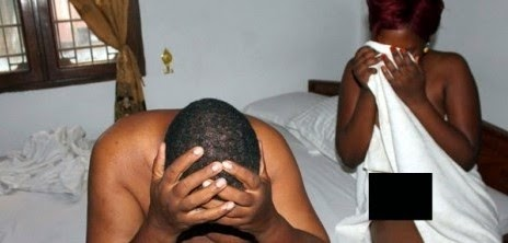 man caught in bed lagos