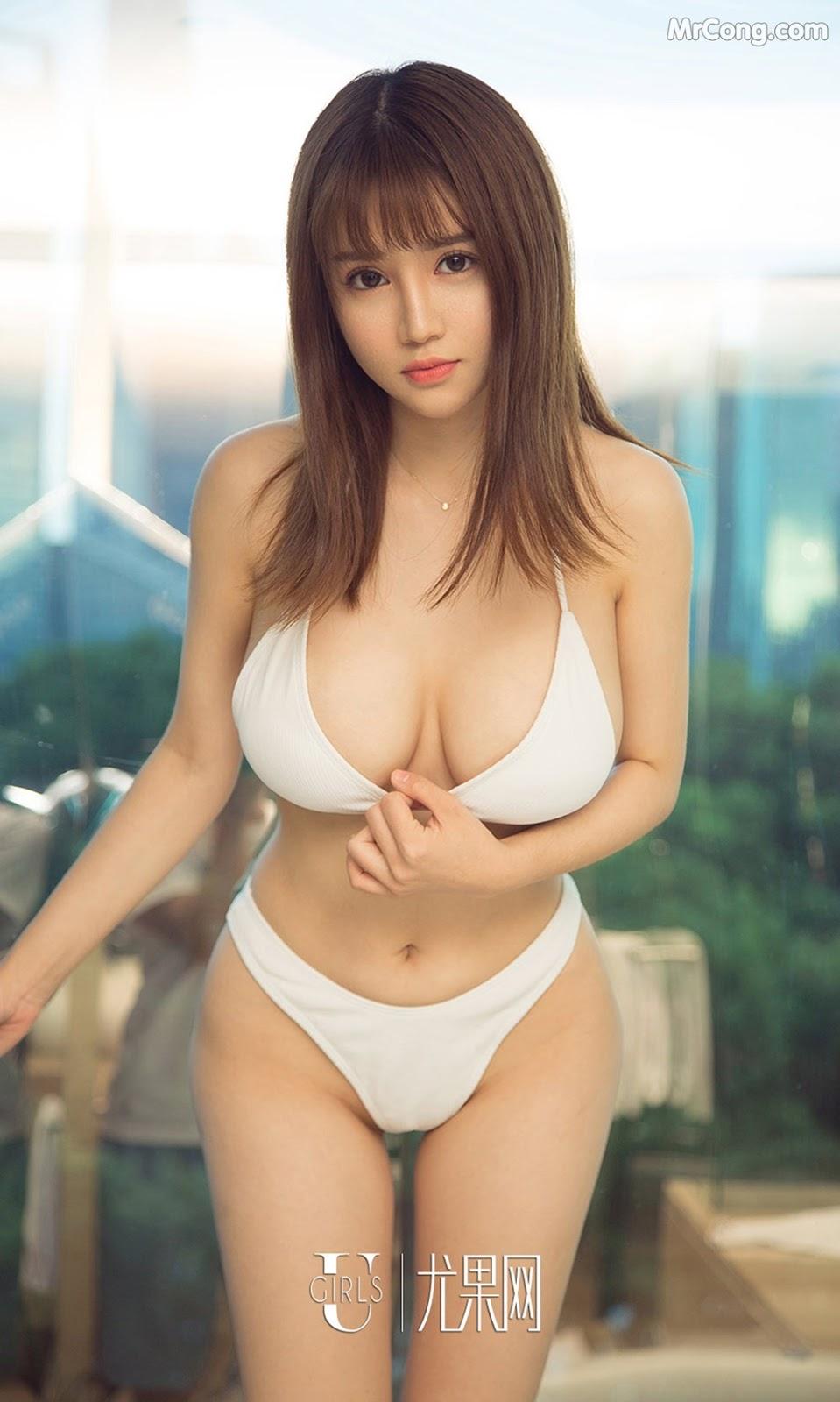 Image UGIRLS-Ai-You-Wu-App-No.1211-Zhou-Da-Meng-MrCong.com-004 in post UGIRLS – Ai You Wu App No.1211: Người mẫu Zhou Da Meng (周大萌) (35 ảnh)