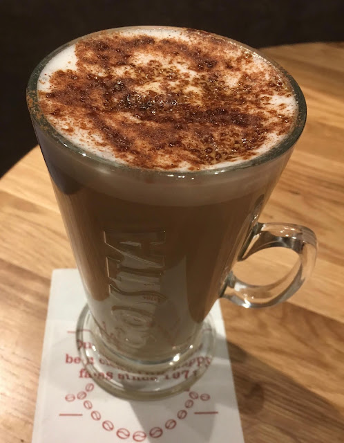 Limited Edition Bonfire Spice Latte Costa