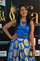 Madhu Shalini Looks Super Cute Slim trim Blue Choli Ghagra IIFA Utsavam Awards 05.JPG