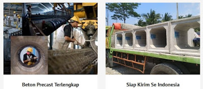 Tempat jual beton precast kokoh Jabodetabek harga termurah 2019