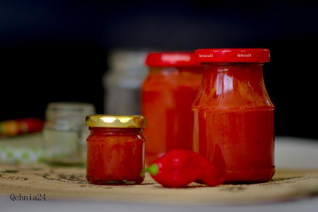 domowy sos chilli na zimę