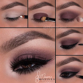 How-to-apply-natural-makeup-&-eye-makeup-ideas-for-brown-9