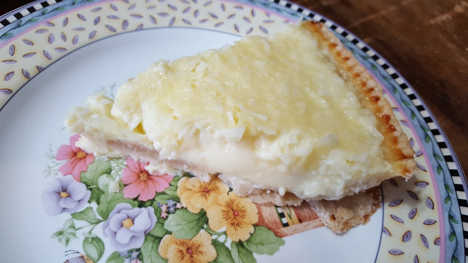 My Patchwork Quilt: COCONUT CUSTARD PIE