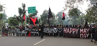 May Day di Kota Bandung Dipusatkan di 4 Titik, Ribuan Polisi Siap Amankan Aksi
