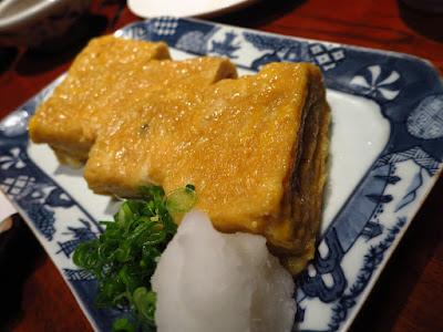 Suju Japanese Restaurant, tamago yaki
