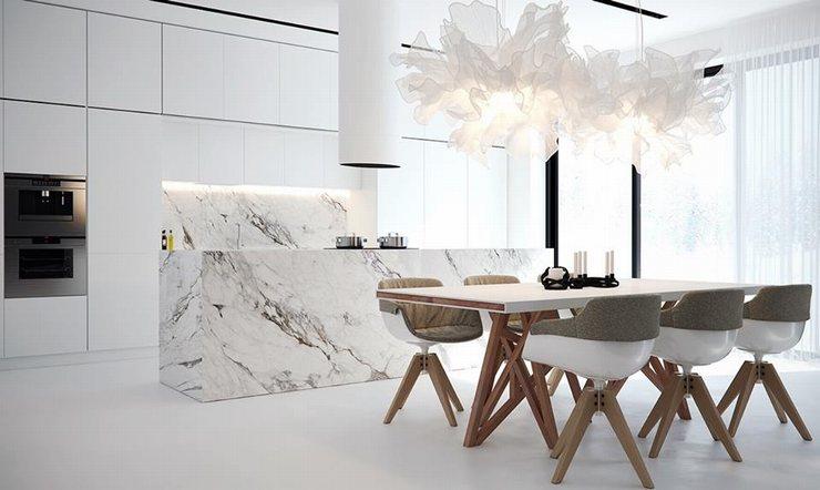 thiết kế thi công nội thất nhà bếp độc đáo 13