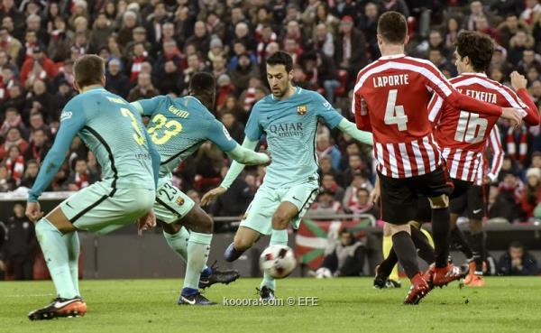 اهداف برشلونة واتلتيك بلباو