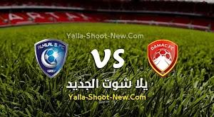 الهلال يتعثر بالتعادل الاجابي امام ضمك في الدوري السعودي