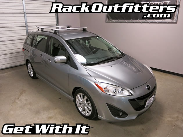 This Complete Multi Purpose Base Roof Rack Is For The 2006 2007 2008 2009 2010 2017 And Mazda Mazda5 5 Door Mpv That Has