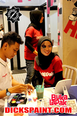 Face Painting Jakarta Indonesia