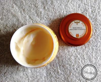 Mascarilla intensa de miel de Garnier