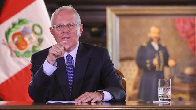 """Presidente peruano ordena """"la muerte civil"""" de los corruptos"""