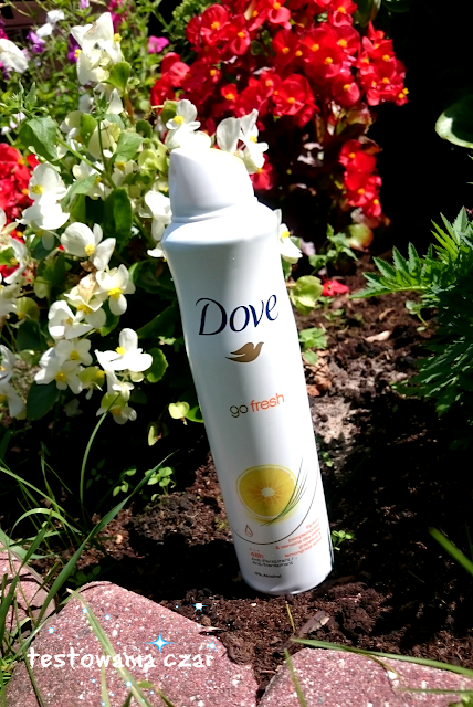 Dove Go Fresh Grapefruit and Lemongrass antyperspirant w aerozolu 250 ml