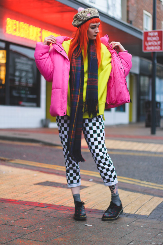 Alternative Fashion Blogger Foxxtailz in Missguided