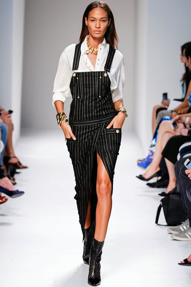 Balmain Ready to Wear Paris Fashion Week catwalk