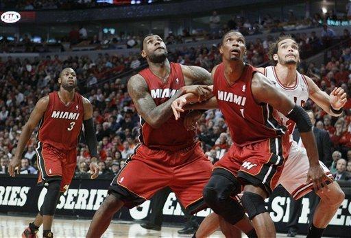 Chicago Bulls Vs Miami Heat - NBA Playoffs 2013 Game 5 ...