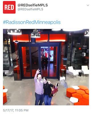 Red Radisson Minneapolis Hotel