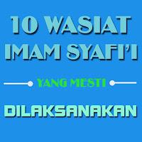 wasiat imam syaifi