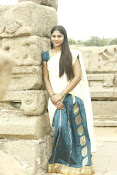 Shruti Reddy latest photos in half saree-thumbnail-2