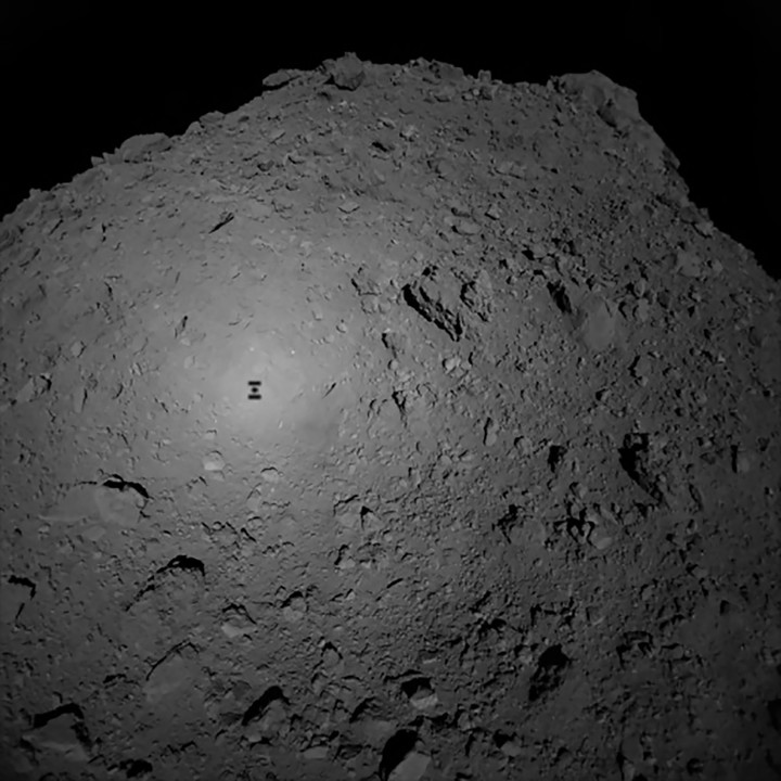 "A robot landed on an asteroid for an ""express mission"" of only 16 hours"