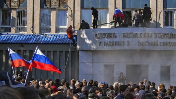 Як захоплювали луганську СБУ