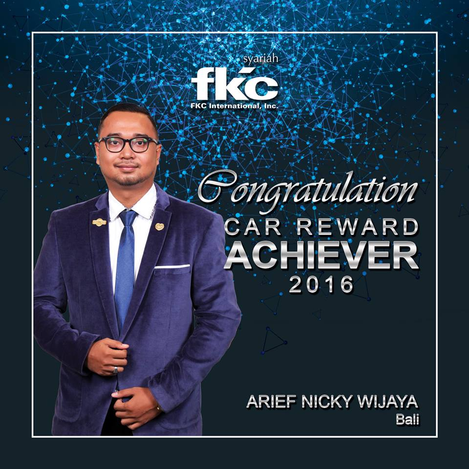 Bisnis Fkc Syariah - Reward Arief Nicky Wijaya