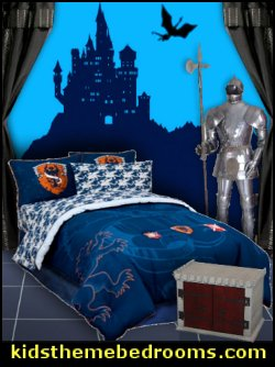 Gothic bedroom, Gothic room and Gothic furniture.  When ever we think Gothic, we recall all those church buildings