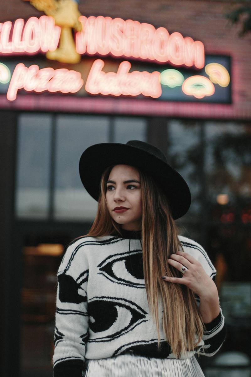 fashion blogger, utah fashion blogger, wide brim hat