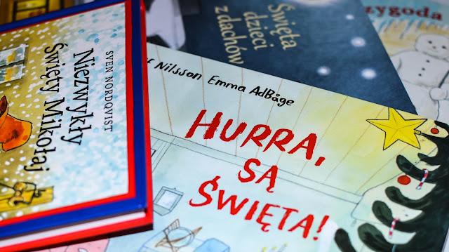 czytamy, książki o świętach i zimie, Zakamarki, Media Rodzina, Przygotowalnia, książki dla przedszkolaka, książki dla uczniaka, blog o książkach dla dzieci,