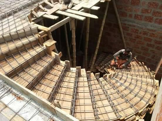 Stair construction instructions from architects decor units for Construccion de escaleras de cemento