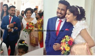 actress Archana Kavi and Abish wedding