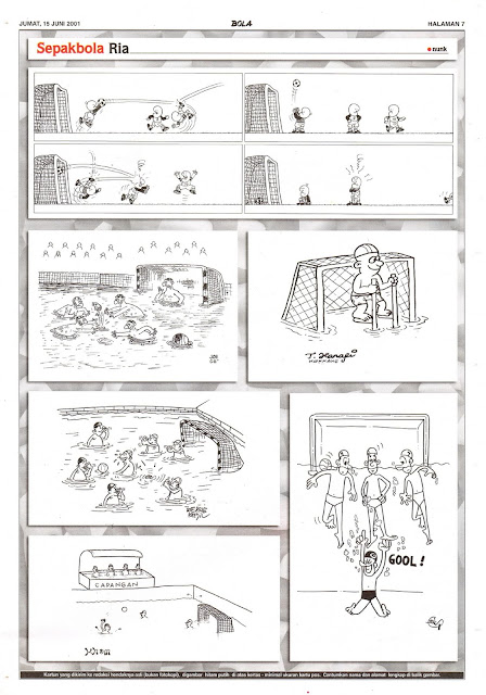 Sepakbola Ria EDISI JUM'AT, 15 JUNI 2001