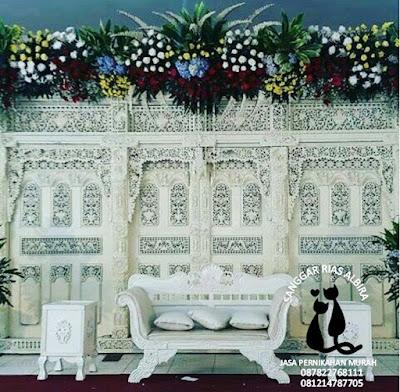 Paket pernikahan di rumah 16.5 juta lengkap dengan Catering