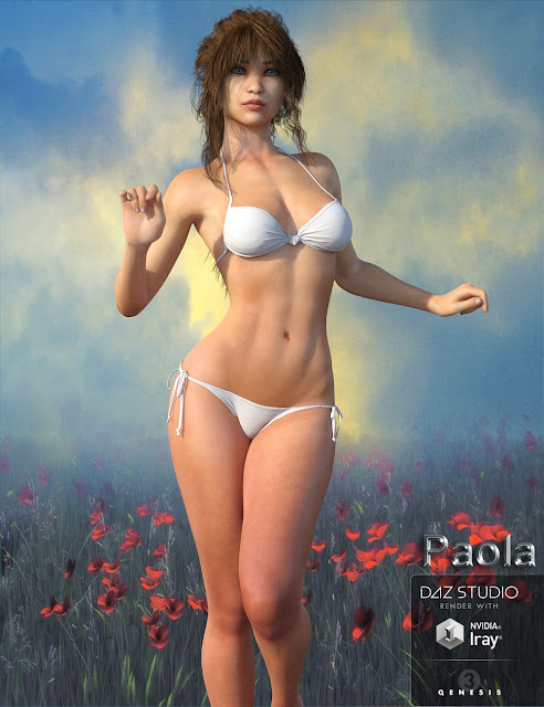 Paola for Genesis 3 Female