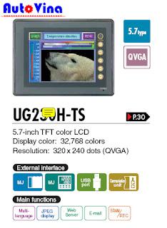 Công ty bán màn hình Hmi Fuji UG230H-TS4