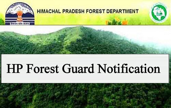 HP Forest Guard Admit Card 2019 Date released for Physical Efficiency Test (PET)