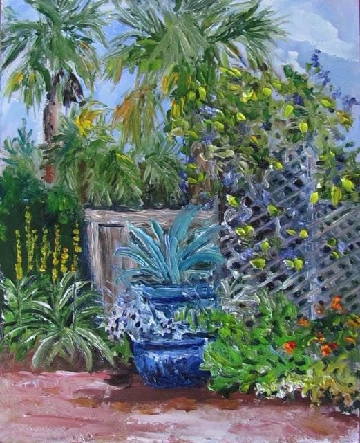 Heathcote Botanical Gardens: Lori's Stormy Art And Daily Paintings: 1493 Herbs At