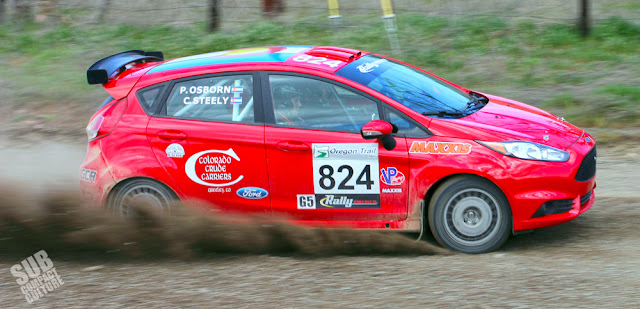 Team O'Neil Rally Fiesta - Cameron Steely