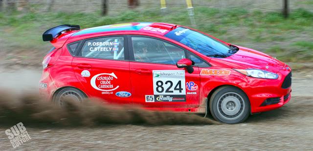 Team O'Neil Rally Fiesta - Cameron Steely