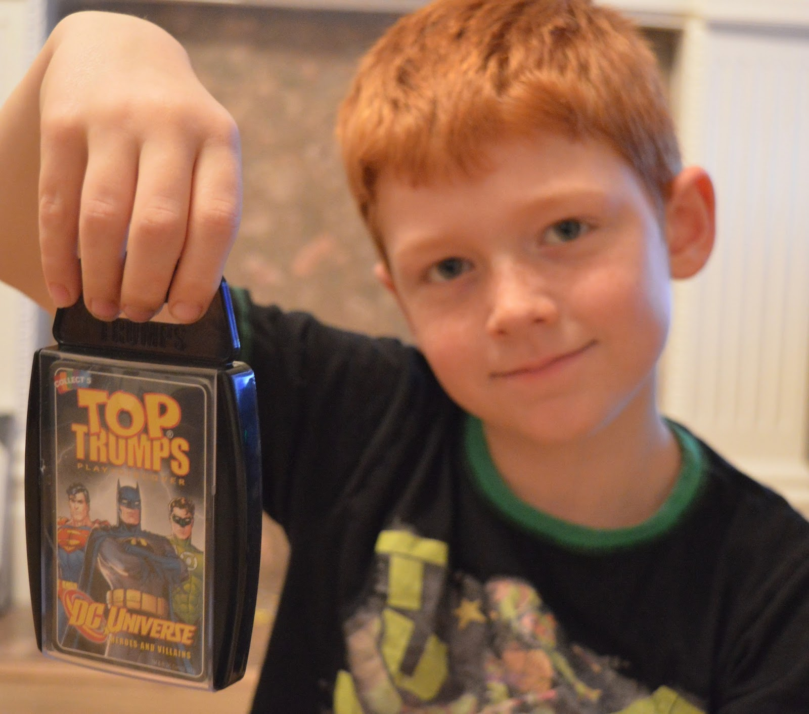 Top Family Board Game - Superhero Top Trumps
