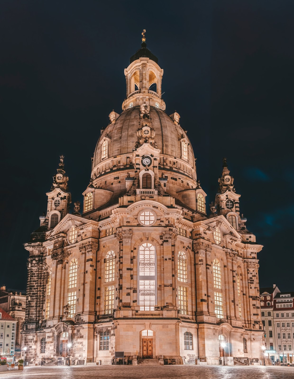 Beautiful Image of the Frauenkirche Church in Dresden after the reconstruction