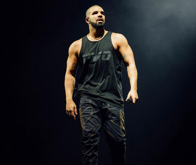The body on rapper Drake though