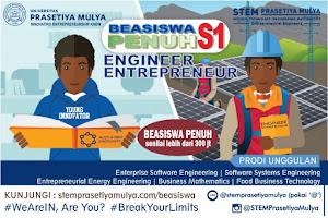Beasiswa Kuliah S1 STEM Universitas Prasetiya Mulya