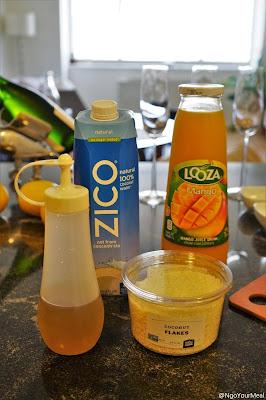 Mango Coconut Fizz Cocktail Club NYC