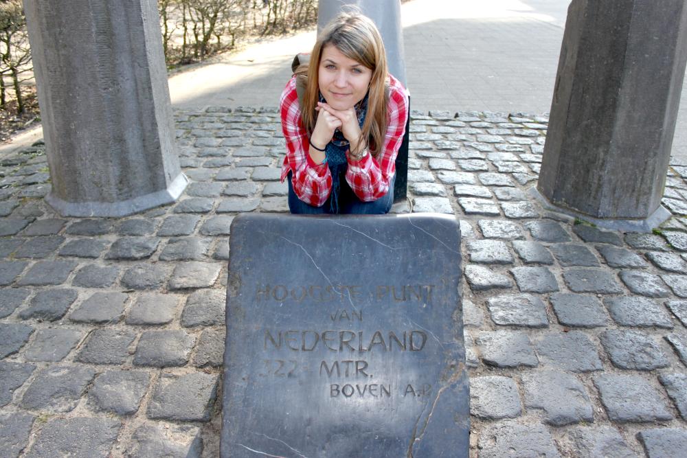 Holandia - najwyższy punkt