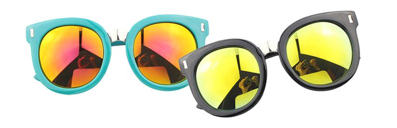 Óculos Flat Sunnies Espelhados