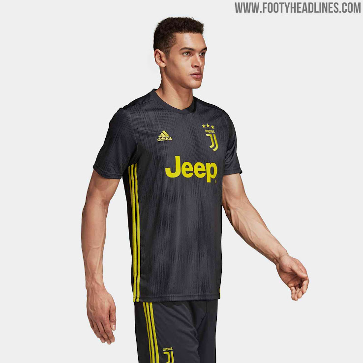 finest selection b608f 6ed70 Juventus 18-19 Third Kit Released - Footy Headlines