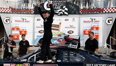 Will Rodgers Earns First Career Victory #NASCAR